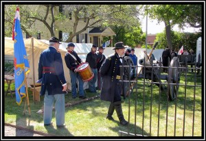 Civil War Encampment at Glenview History Center