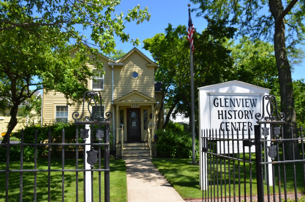 Welcome to the Glenview History Center's online residence!